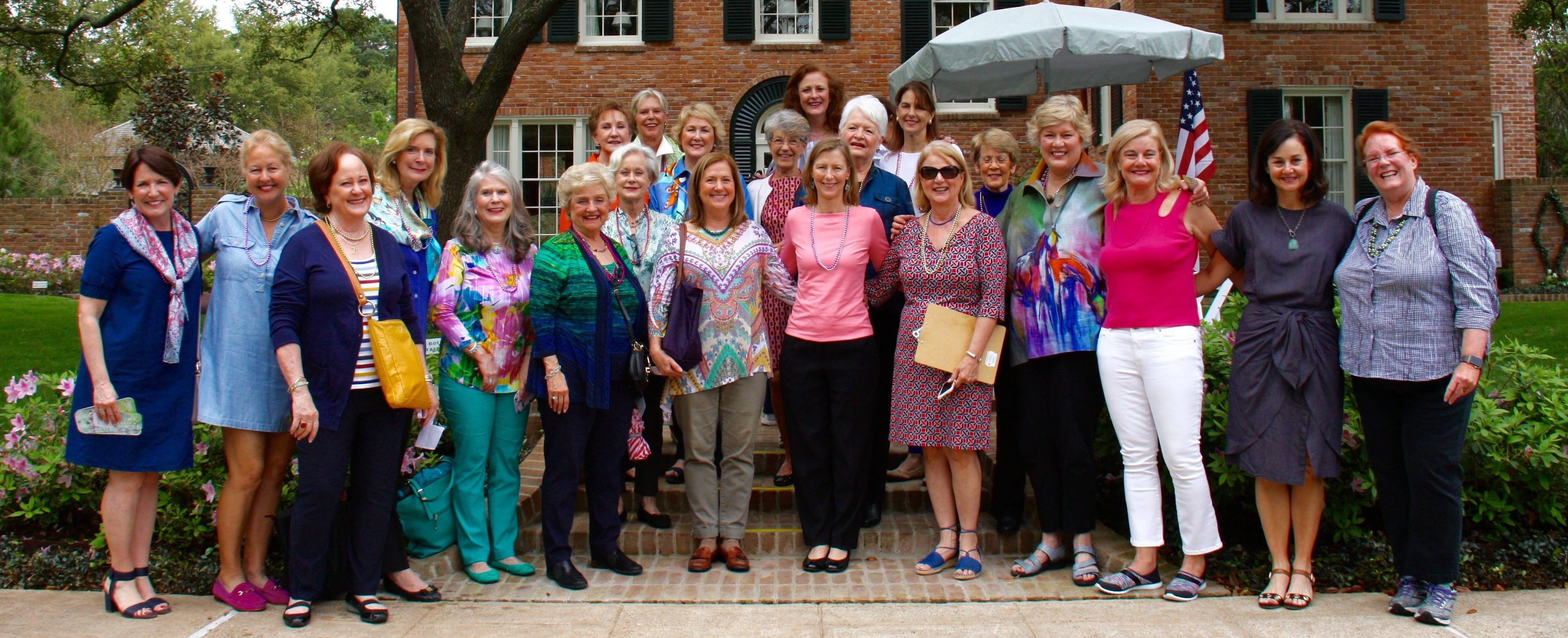 Theta Travelers enjoy the annual Azalea Trail in March!