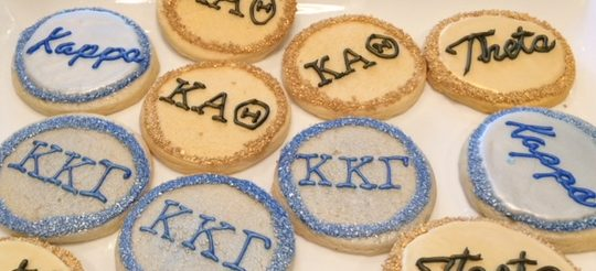 Sweet treats at the Kite & Key Luncheon!